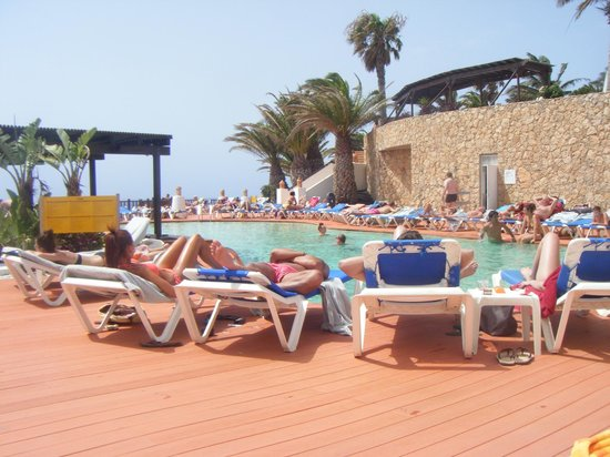 Pool bar pool adults only - Picture of Club Jandia