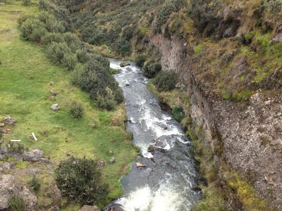 Antisana Ecological Reserve: rushing streams
