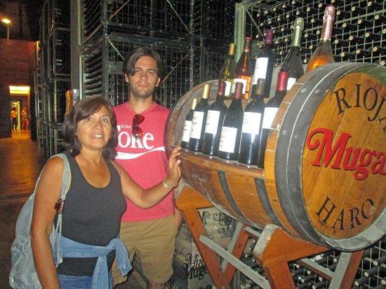 Bodegas Muga: Selection of wines produced at Muga