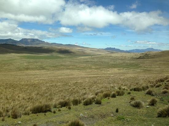 Antisana Ecological Reserve: miles and miles