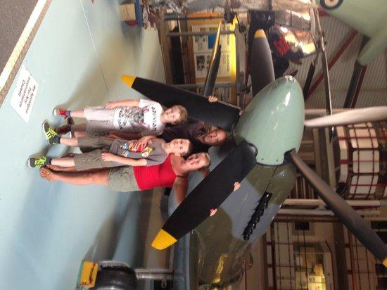 Solent Sky Museum: Spitfire