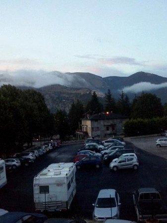 Hotel Alisma: vista dalla camera dopo il temporale