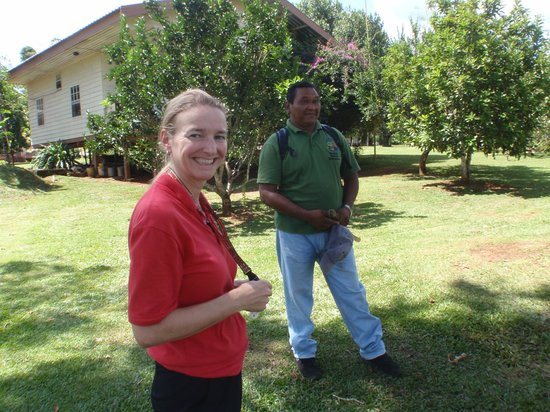 Kabalebo Nature Resort: Vivian our Host and Guide Terrell