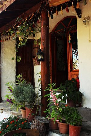 Oz Garden: evin giriş kapısı