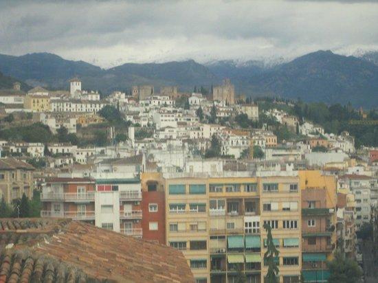 abba Granada Hotel: VISTA DESDE EL ASCENSOR