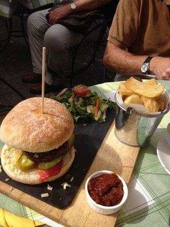 The Priest Hole: big burger