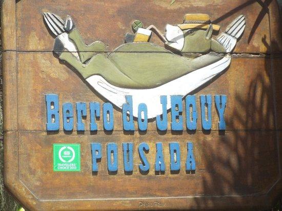 Pousada Berro do Jeguy: Entrada da Pousada
