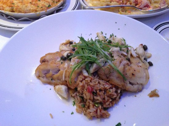 Oceanaire Seafood Room - DC : Florida Golden Tilefish