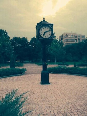 Clock on the Pushkin's Boulevard