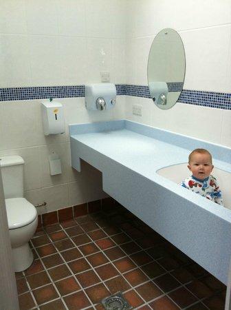Polmanter Touring Park  Baby Bathroom Levant. Baby Bathrooms   Picture of Polmanter Touring Park  St Ives