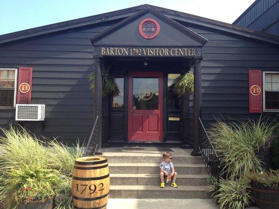 Barton 1792 Distillery : the visitor center