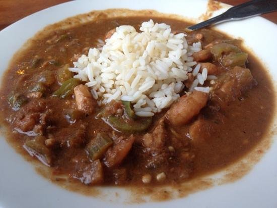 The Back Porch: Seafood Gumbo