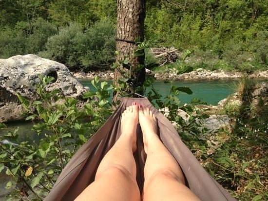 Pluzine, Montenegro: relaxing