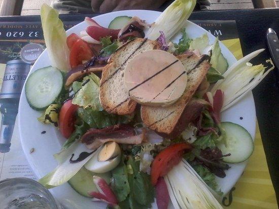 Chez Fanny : Salade Gourmande