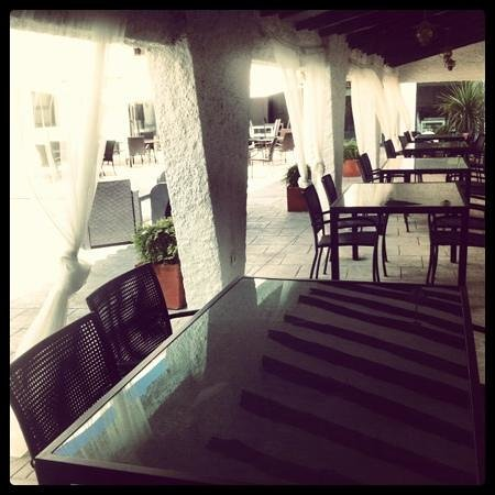 Hotel Salome : patio interior