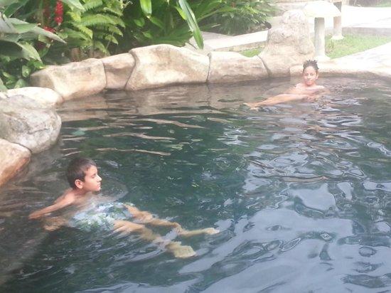 Hotel El Silencio del Campo: piscinas termales