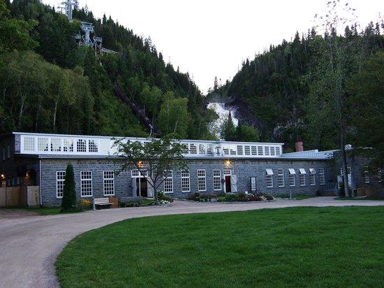Village historique de Val-Jalbert - Hebergement et Camping : Moulin (resto)