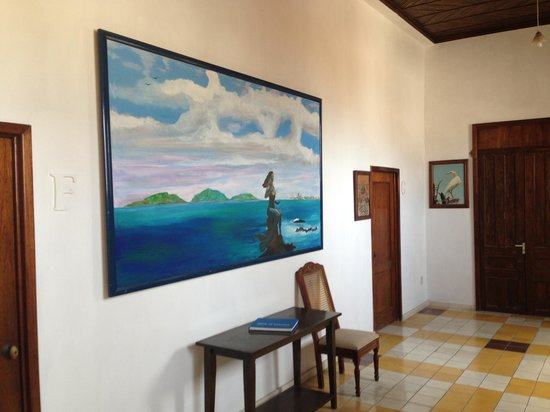 Hotel Machado: hallway