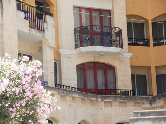 Il Palazzin Hotel: our balcony