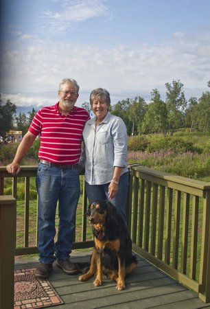 Crane's Rest B&B: Julie and Steve