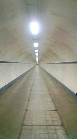 St. Anna's Tunnel / Pedestrians' Tunnel : The Tunnel