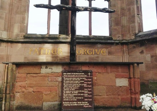 Coventry Cathedral: The Cross