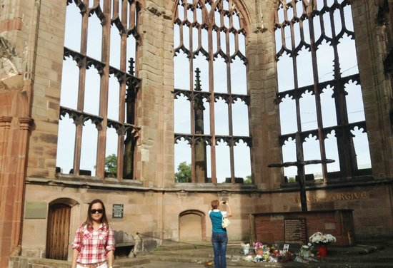Coventry Cathedral: the ruins