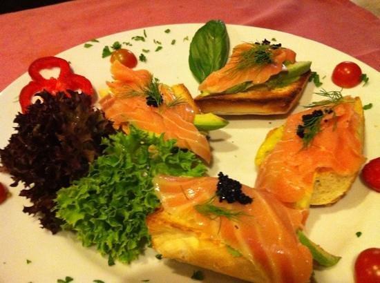 Restaurante Marco Polo: bonita presentacion