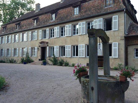 Chateau de Grunstein : outside Chateau