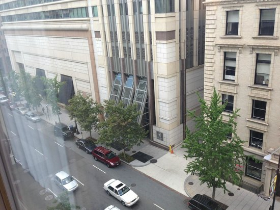 Washington Marriott at Metro Center: The view from our room