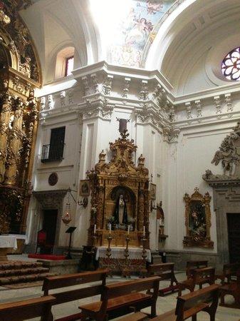 Iglesia de Las Calatravas: detalle