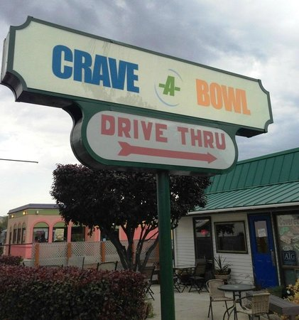 Crave-A-Bowl Grill: The Crave-a-Bowl