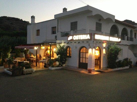Osteria Ristorante Italiano : Terraza