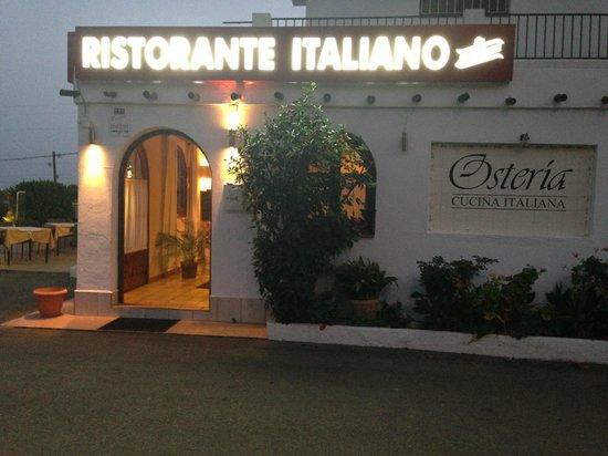 Osteria Ristorante Italiano : Entrada