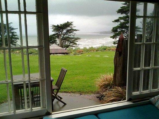Ahu Ahu Beach Villas: view from villa