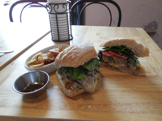 Metiz Bistro Frances : Sandwich Burger