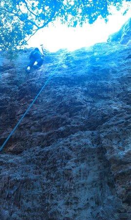 Rock-About Climbing Adventures: Top of 2nd climb