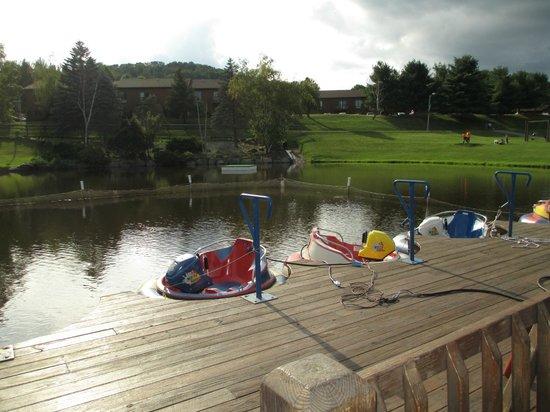 Villa Roma Resort and Conference Center: bumper boats