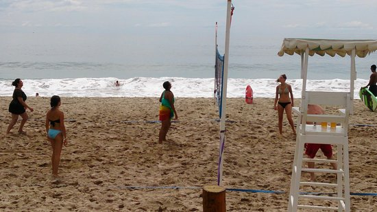 Hyatt Ziva Puerto Vallarta: Beach Volleyball!