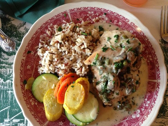 Iron Door: chicken piccata