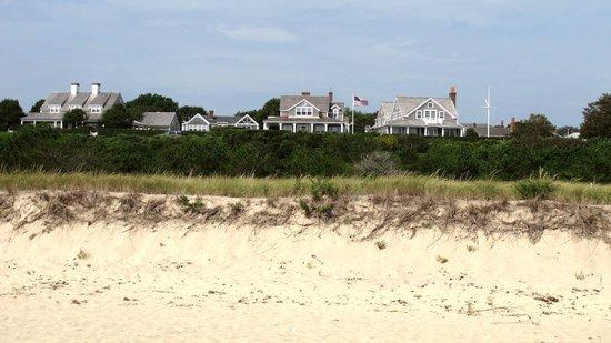 Siasconset Beach: Houses on the beach
