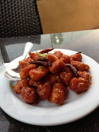 China Grill: Crispy Orange Chicken