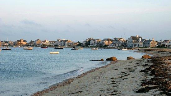 Jetties Beach: Sunset on the beach
