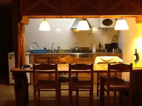 Cabanas Huala Hue: coin cuisine