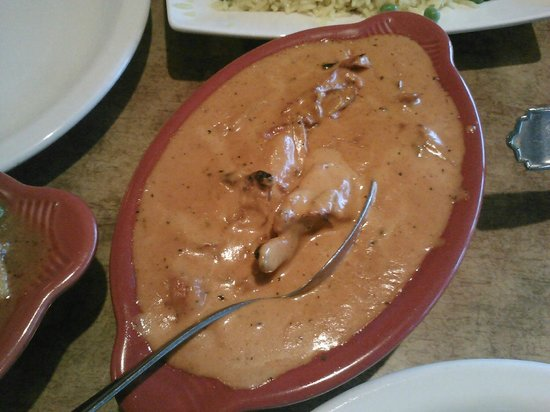 "Saffron Tiger : Chicken Makhani (or ""butter chicken) The best!"