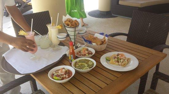 Marival Residences Luxury Resort: COMIDITA DE LEMON GRASS