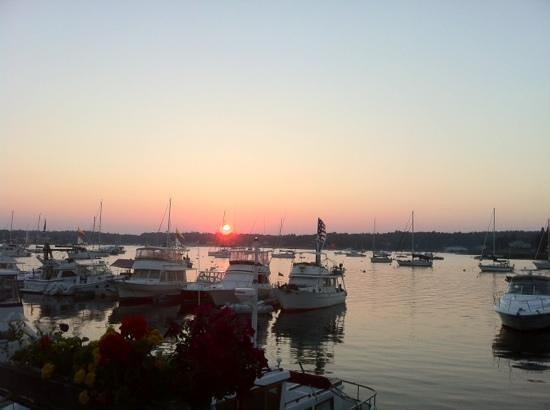 Brown's Wharf Restaurant deck view