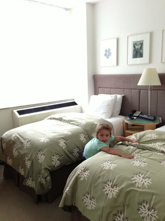 Phillips Club: Kids Bedroom (they each had their own bed)