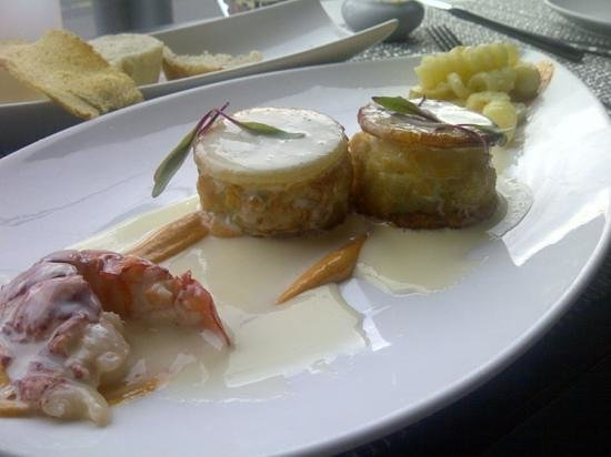 Ici Bistro : Scallops and Lobster