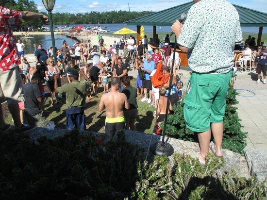 Split Rock Resort: Christmas in July 2013